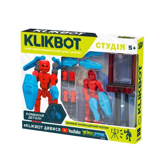 Игровой Набор Для Анимационного Творчества Klikbot S1 – Студия (Синяя) TST2600Blu