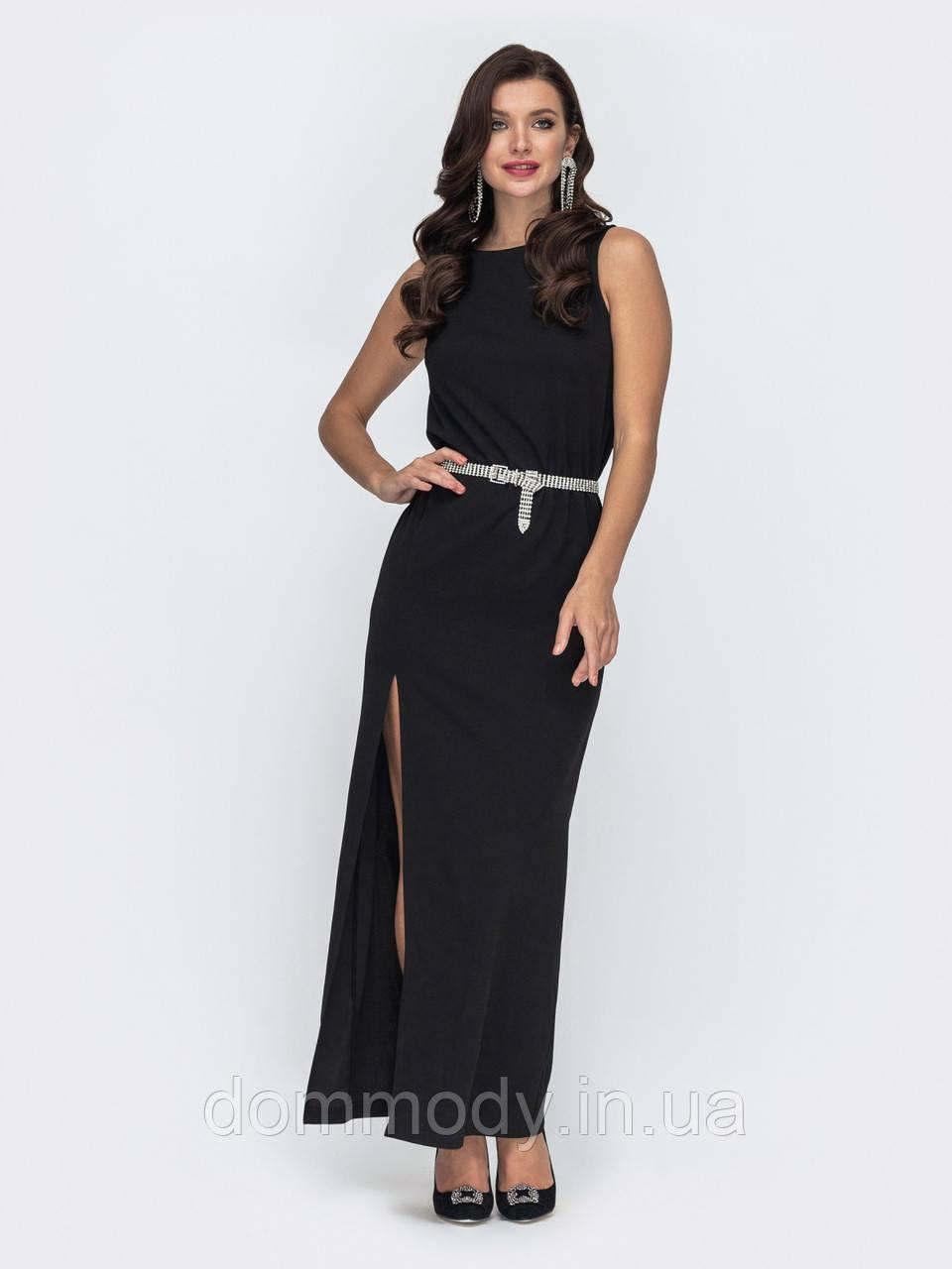 Платье женское Sabrina черного цвета