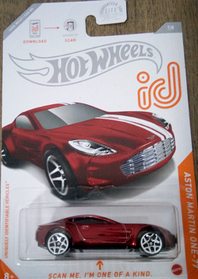 Hot Wheels id Aston Martin One-77