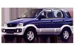 Килимки в салон для Daihatsu (Дайхатсу) Terios 1 1997-2006