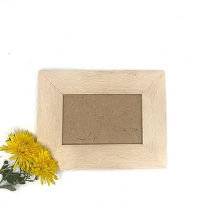 Дерев'яна рамка для фото 15*10см.