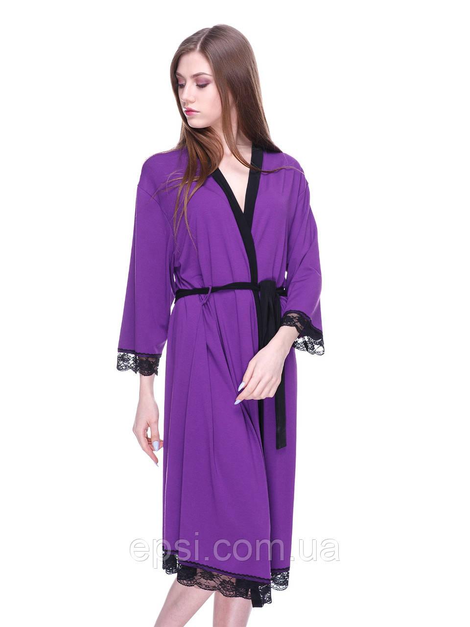 Халат Aniele 17301(Б17301) S фиолетовый