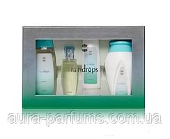 Ajmal Raindrops Set edp 50 ml. + body lotion 100 ml. + shower gel 200 ml. + body powder 100 g.