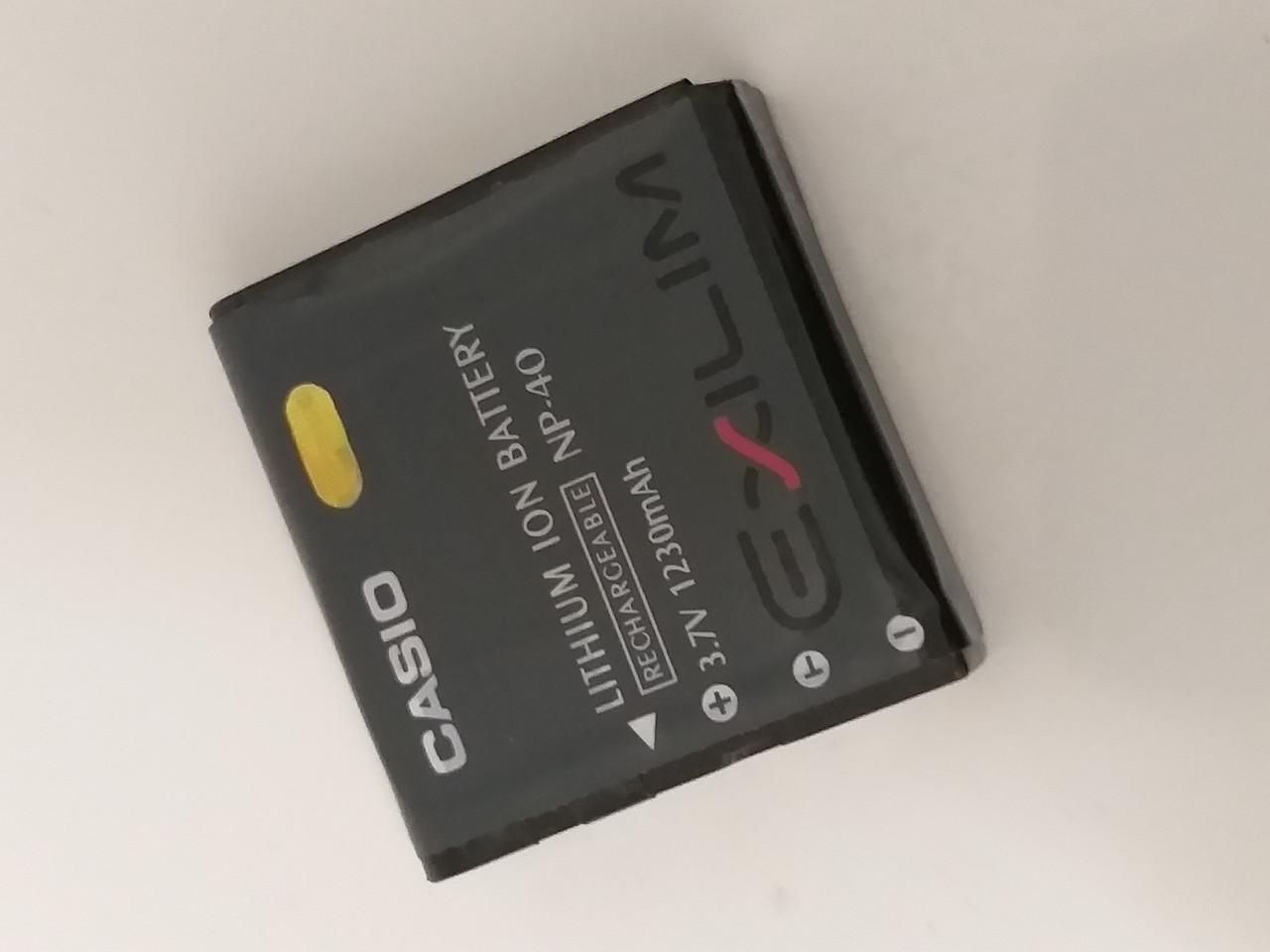 Аккумуляторная батарея CASIO NP 40