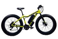 "TitanBike Электровелосипед Titan Crossover FT 26""16"" Неоновый Жёлтый-Чёрный"