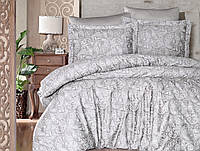 Комплект постельного белья First Choice Lima Bej сатин семейный бежевый