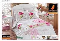 Постельное белье Mariposa Rosa mar V1 бамбук сатин евро