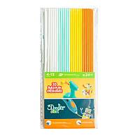Набор стержней для 3D-ручки 3Doodler Start - МИКС (24 шт: белый, мятный, желтый, оранжевый) 3DS-ECO-MIX1-24