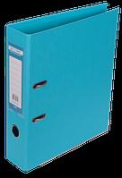 Папка-регистратор двухсторонняя ELITE, А4, ширина торца 70 мм, голубая