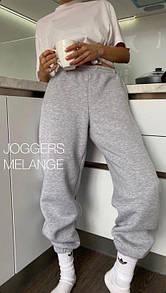 Женские теплые спортивные штаны на флисе с манжетами (р. 42-48) 40bu552