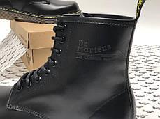Демисезонные мужские ботинки dr.martens black. ТОП Реплика ААА класса., фото 2