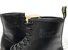 Демисезонные мужские ботинки dr.martens black. ТОП Реплика ААА класса., фото 3