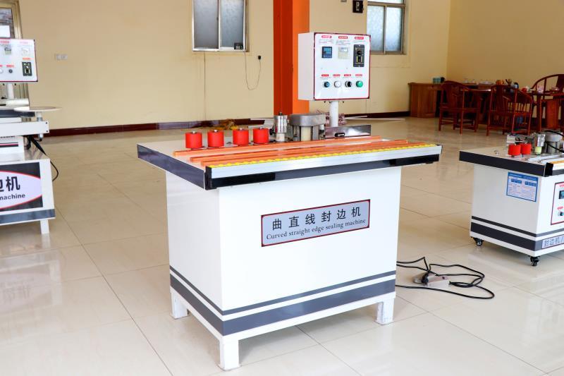 Кромкооблицовочный станок QZF50