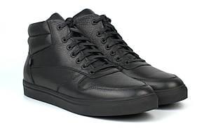 Зимові чоловічі кросівки на хутрі шкіряне чоловіче взуття великих розмірів Rosso Avangard ReBaKa SL Leather BS