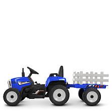 Детский электромобиль трактор M 4479 EBLR-4 с прицепом, фото 2