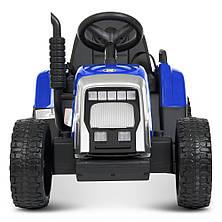 Детский электромобиль трактор M 4479 EBLR-4 с прицепом, фото 3