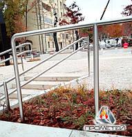 Перила безригельные из нержавеющей стали для парков и зон отдыха