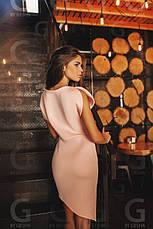 Платье с вырезами на рукавах неопрен , фото 3