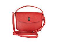Жіноча шкіряна міні-сумка Eve червона флотар