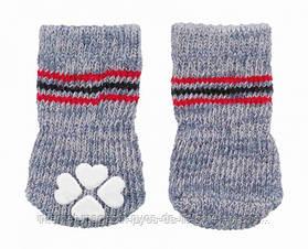 Носки для собак антискольжение (хлопок), 1 уп - S-М