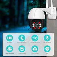 IP-камера наружная беспроводная (модель A8B), 1080P, PTZ, Wi-Fi, 4-кратный зум