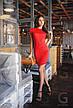 Платье с вырезами на рукавах неопрен , фото 5