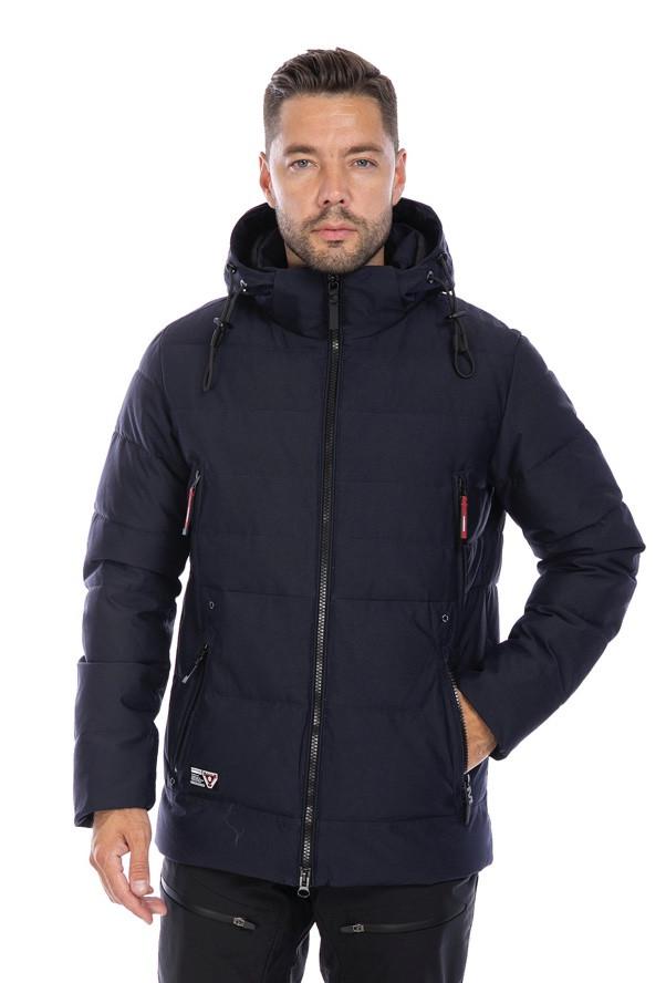 Мужская зимняя Куртка WHS Темно-синий