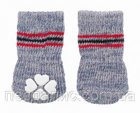 Носки для собак антискольжение (хлопок), 1 уп - XXS-XS 2 шт.