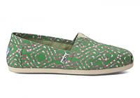 Женские TOMS Green Geometric Tie Dyed Women's Classics, фото 1