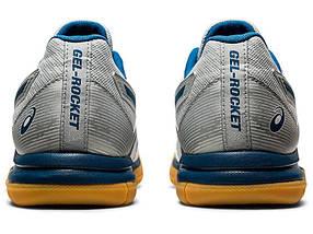 Кросівки чоловічі волейбольні Asics Gel-Rocket 9 1071A030-020 Білий, фото 3
