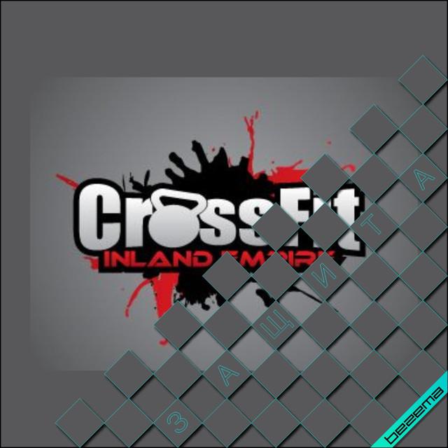 Термонаклейка CrossFit [Свой размер и материалы в ассортименте]