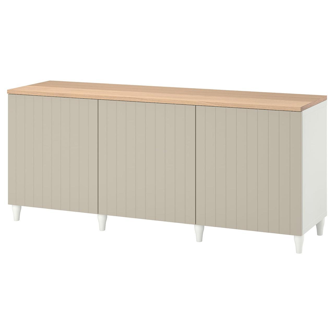 IKEA BESTÅ Комбинация с дверцами 180x42x76 см