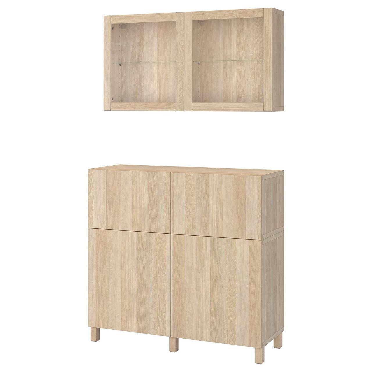 IKEA BESTÅ Комбинация regałowa с двери/ящики с организац