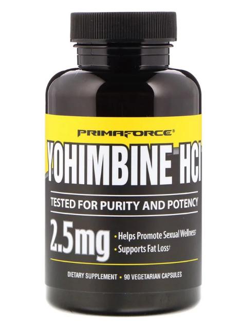 Primaforce Yohimbine HCl 2,5 mg 90 veg caps