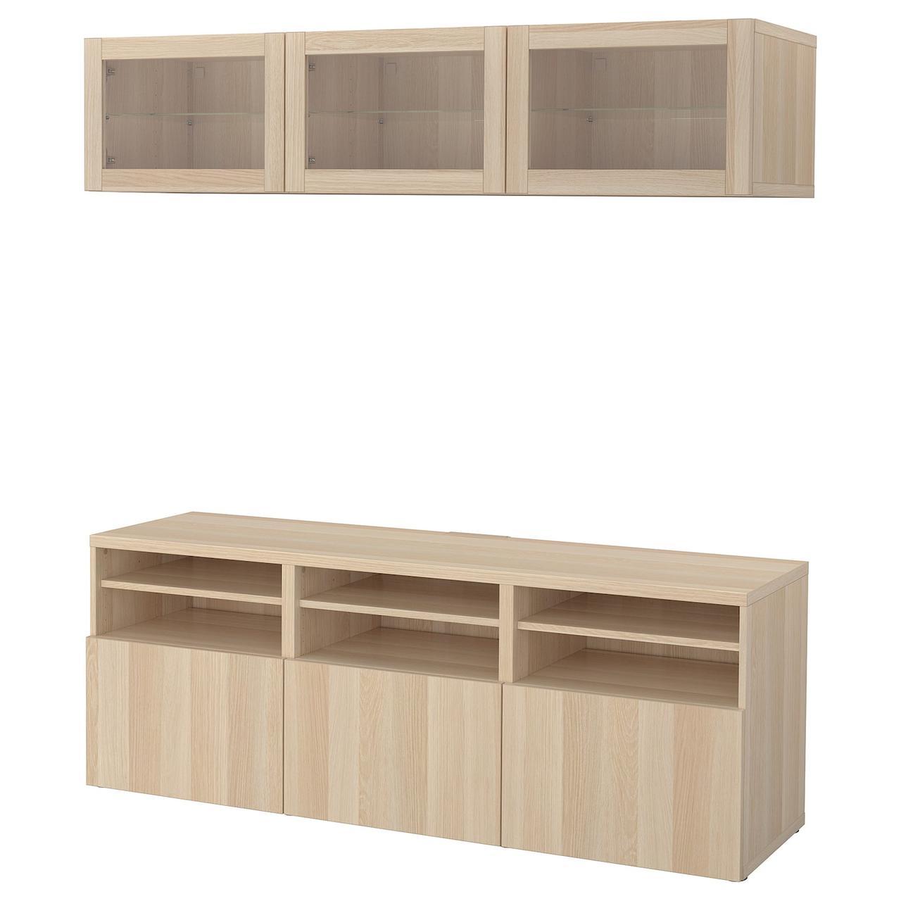IKEA BESTÅ Шафа для ТБ 180x40x192 см