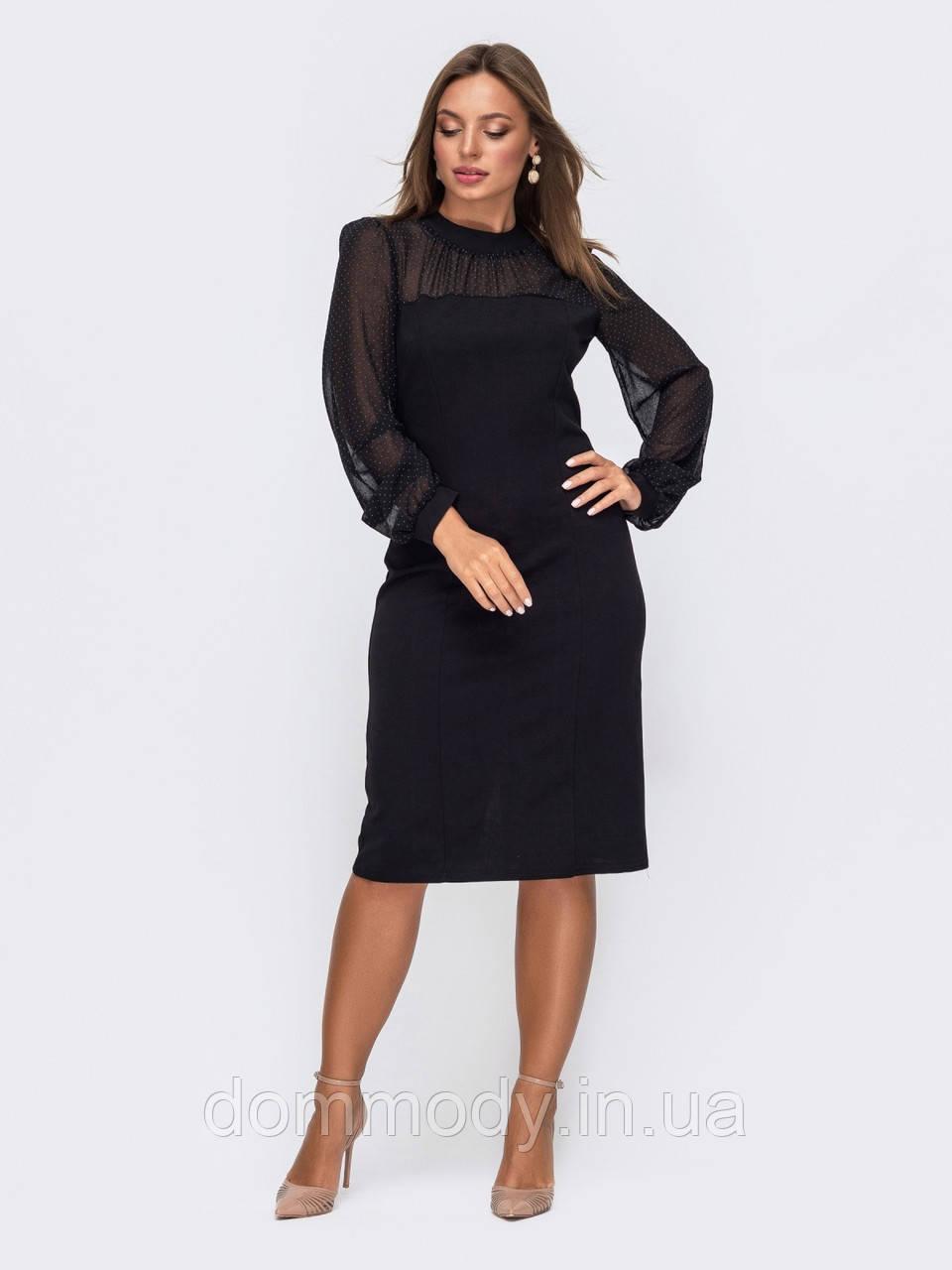 Платье женское Tanya black