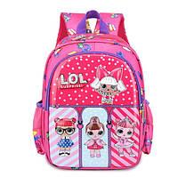 Рюкзак для маленькой девочки в садик кукла LoL