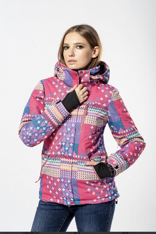 Женская горнолыжная куртка AZIMUTH розовый L\XL