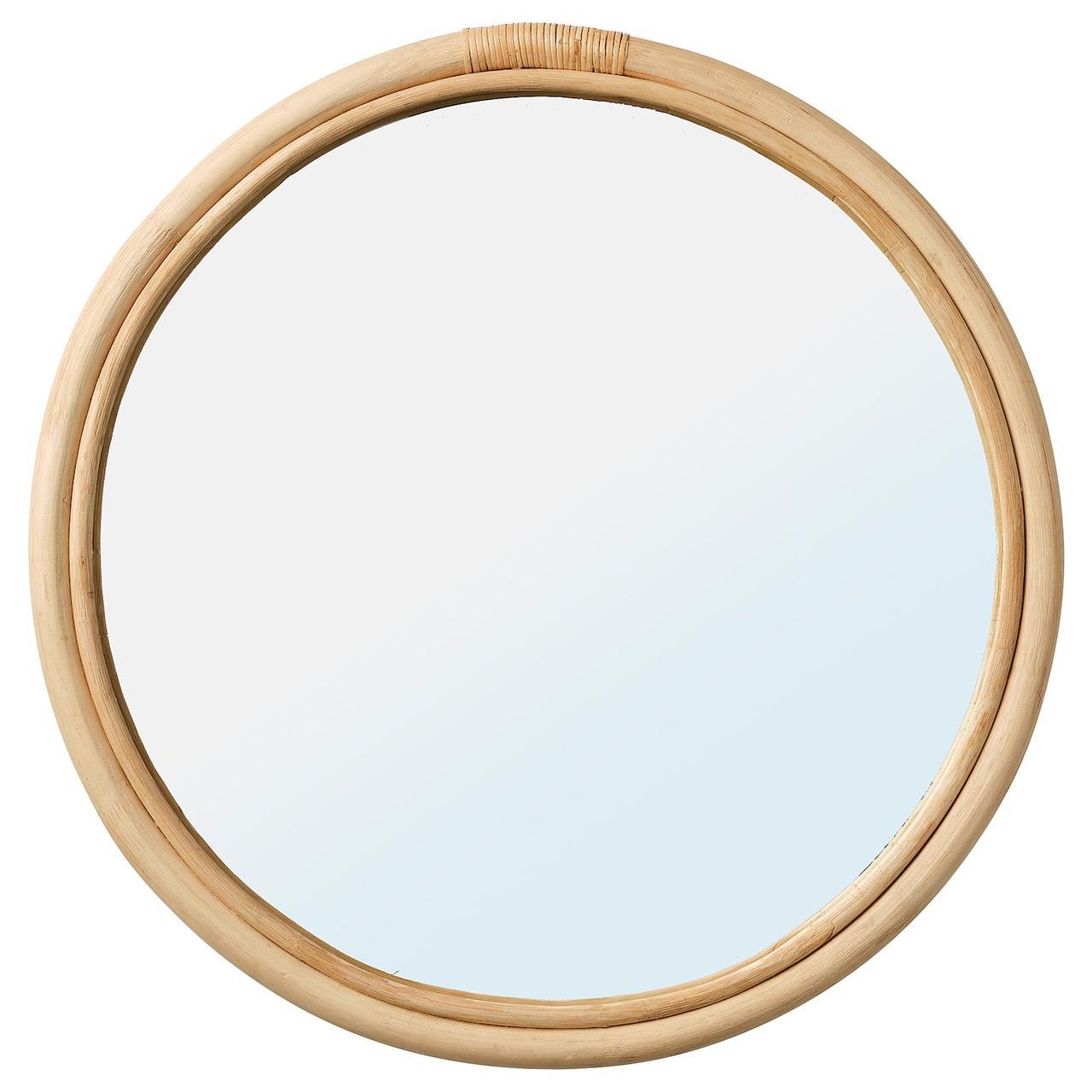 IKEA HINDÅS Зеркало ротанг 50 см