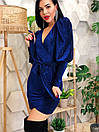 Люрексовое платье с имитацией запаха и рукавами фонариками ( р. S, M, L) 4plt1772, фото 10