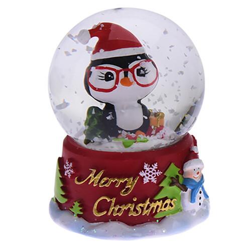 Снежный шар Пингвин (маленький) 4.5х4.5х6.2 см (IMP_NG_4_4_SM_PING)