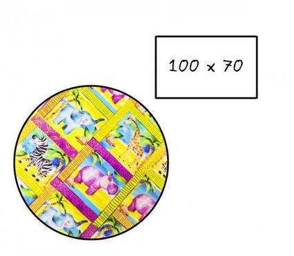 "Бумага упаковочная ""Африка"" (25 шт) 405-25"