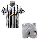 Детская футбольная форма ФК Ювентус Роналдо 2020-2021, фото 3