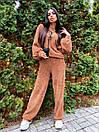 Женский прогулочный костюм с свободной кофтой и брюками (р. 42-46) 63kos1504, фото 3