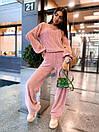 Женский прогулочный костюм с свободной кофтой и брюками (р. 42-46) 63kos1504, фото 5