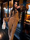 Женский прогулочный костюм с свободной кофтой и брюками (р. 42-46) 63kos1504, фото 6