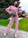 Женский прогулочный костюм с свободной кофтой и брюками (р. 42-46) 63kos1504, фото 8