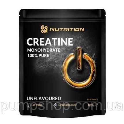 Креатин моногидрат Go On Nutrition Creatine Monohydrate 100% Pure 400 г, фото 2