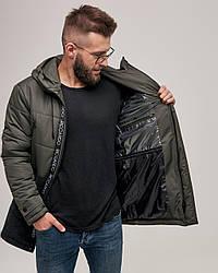 Куртка мужская зимняя хаки люкс качества до - 25 С.  Размер 46, 48, 50, 52, 54