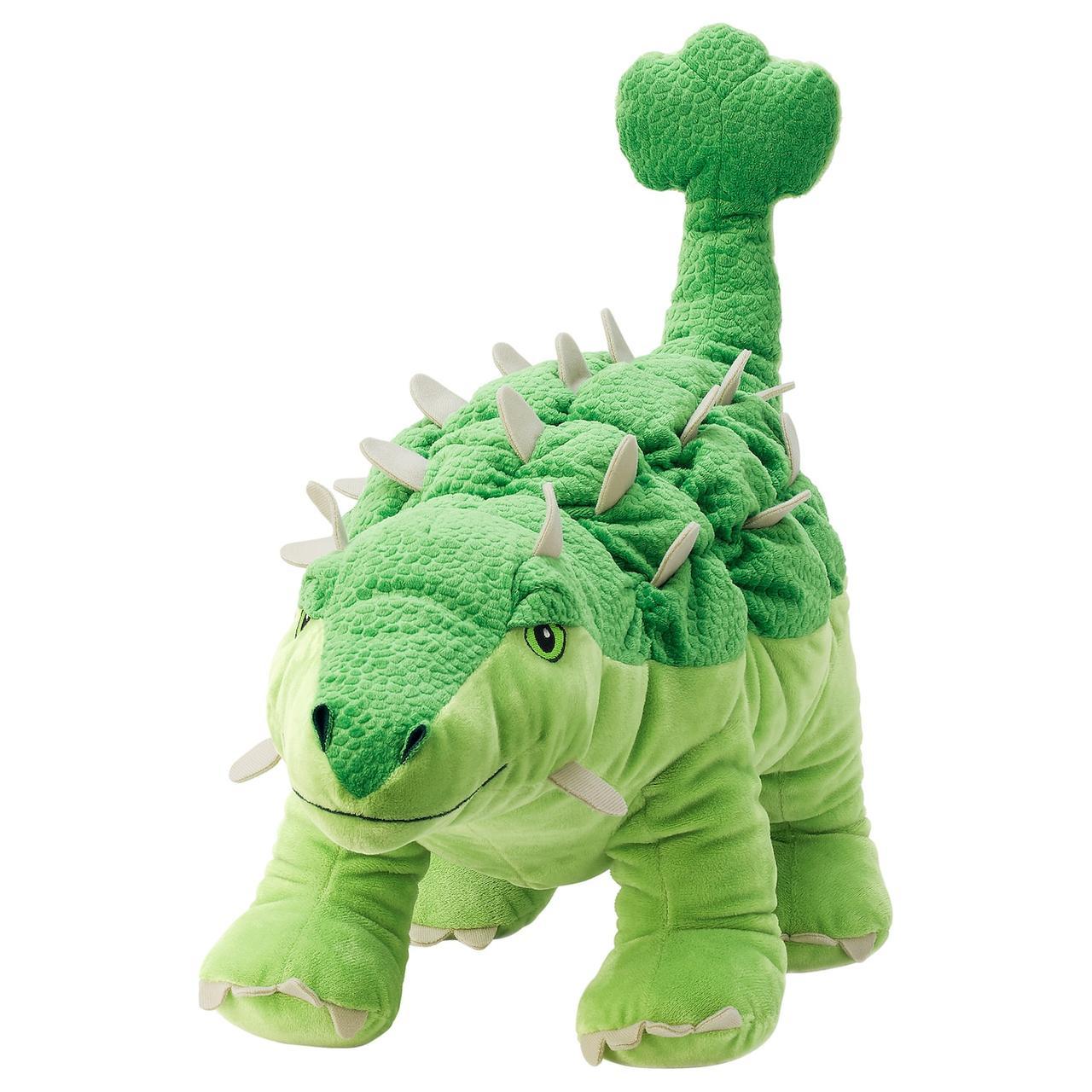 IKEA JÄTTELIK Мягкая игрушка, динозавр ankylosaurus 55 см
